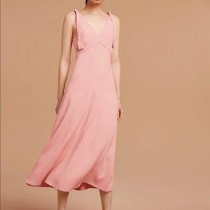 Aritzia Wilfred Preface dress in pink